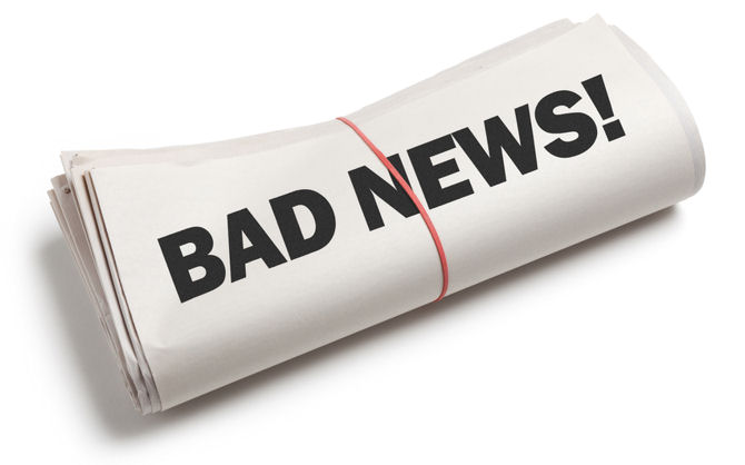People love bad news uberfacts