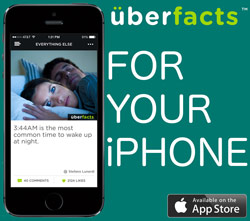 Get the UberFacts App for iPhone
